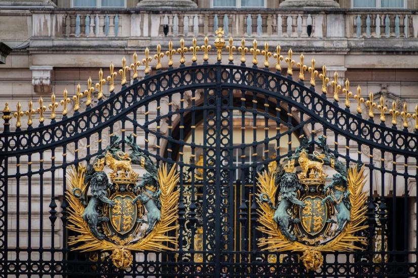 Dettagli cancello buckingham palace