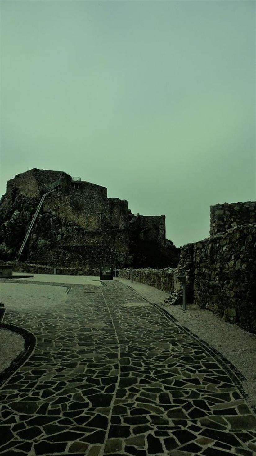 Devín (Slovacchia) - Dentro il castello