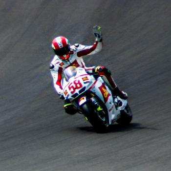 Duello tra vecchie glorie del Moto GP
