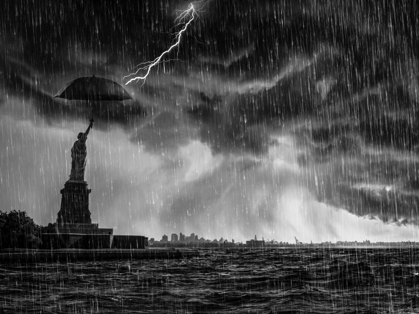 E' arrivata la tempesta
