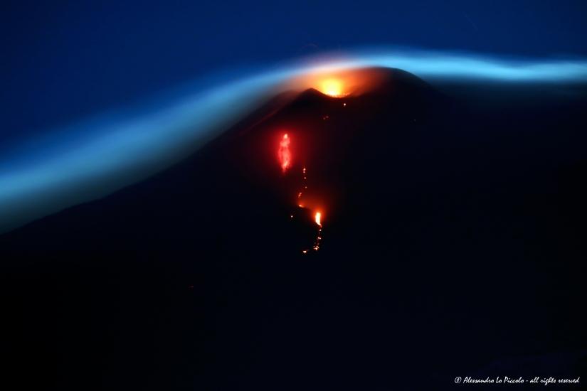 Esoteric Etna under the Moonlight...