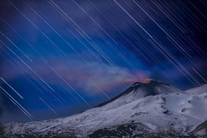 Etna Startrail
