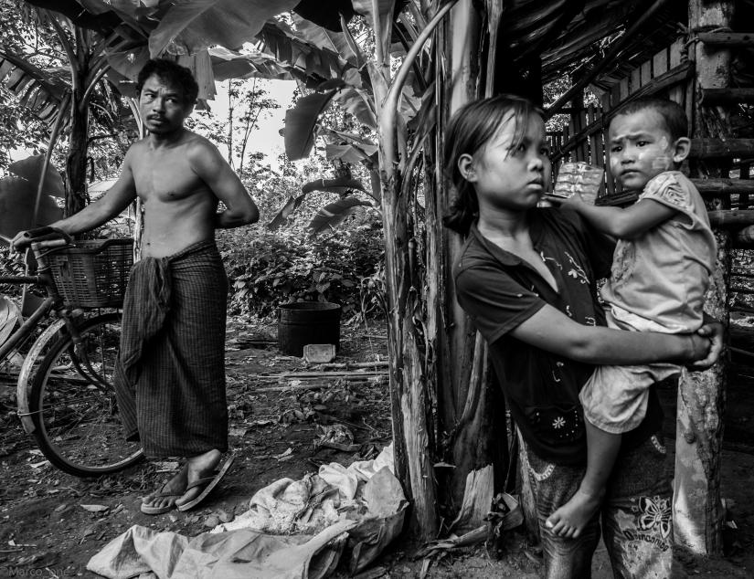 Family. Myanmar 2015