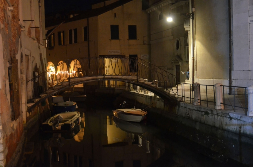 Fondamenta Maddalena by night