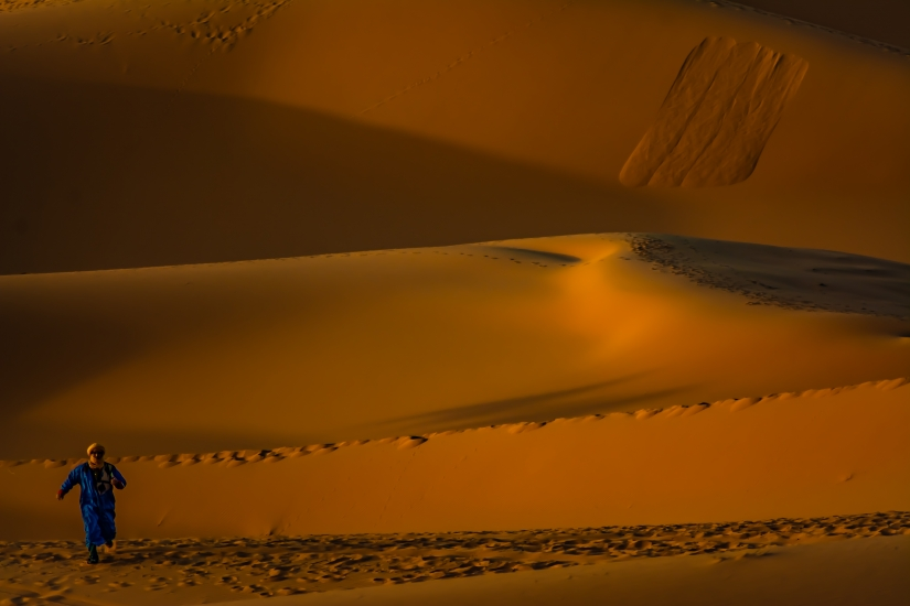 Fuga dalle dune