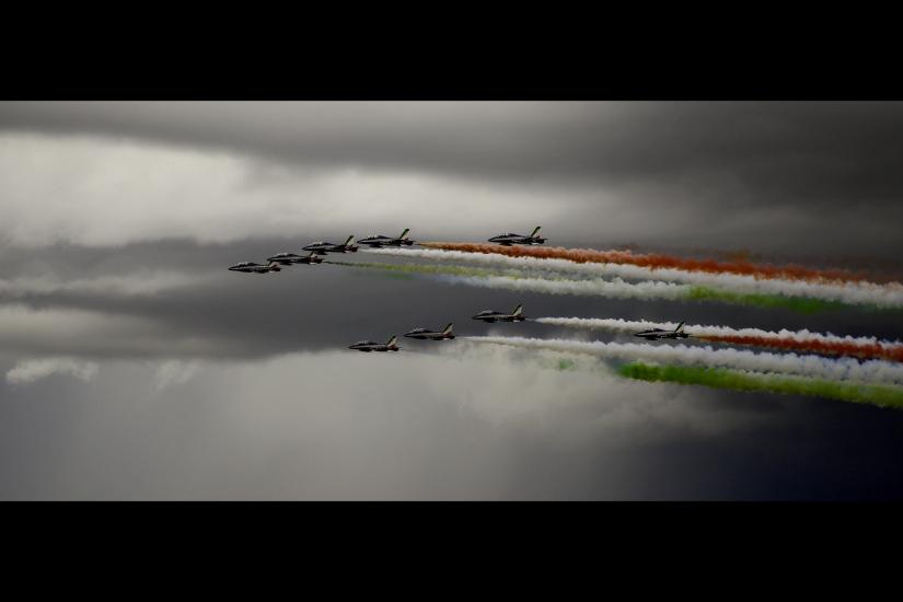 Fulmini tricolori - Pattuglia Acrobatica Nazionale - Frecce Tricolori - Italia