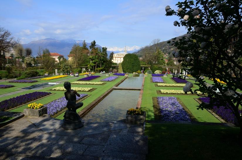 Giardini terrazzati di Villa Taranto ed il