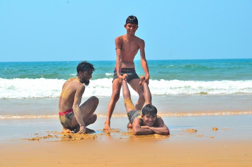Giochi da spiaggia.