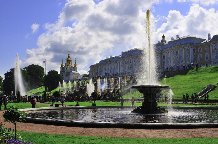 I giardini di Peterhof