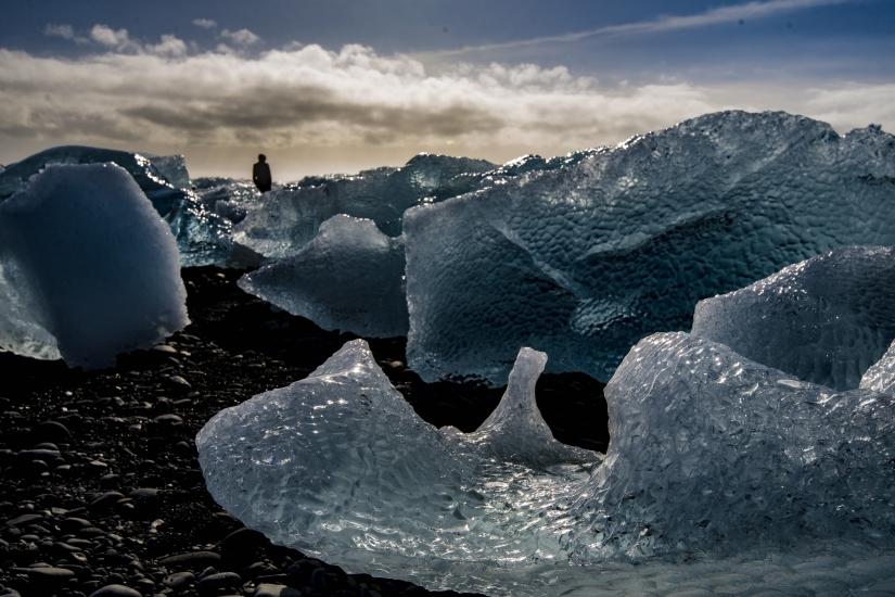 Iceberg di cristallo