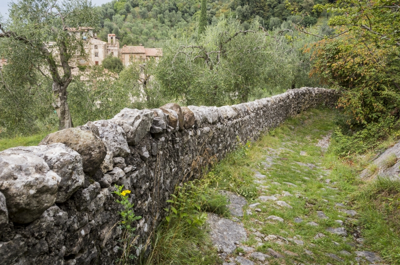 Il borgo di Campo di Brenzone - Lago di Garda