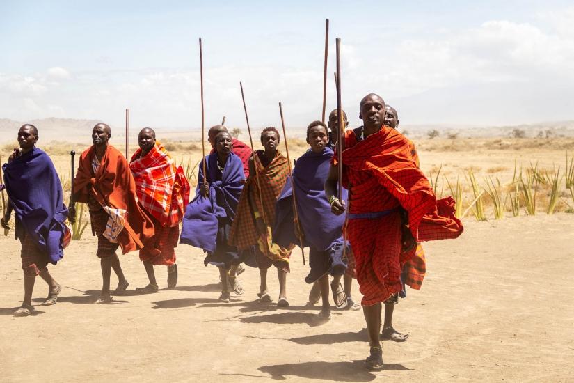 Il fiero popolo Maasai
