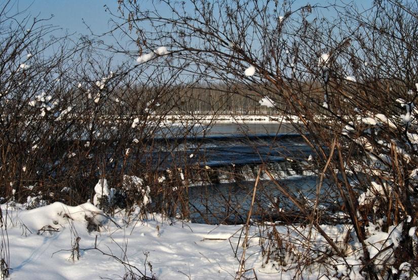 Il fiume e la neve