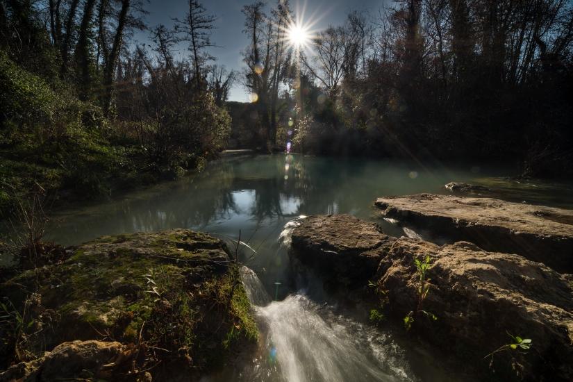 Il fiume in inverno