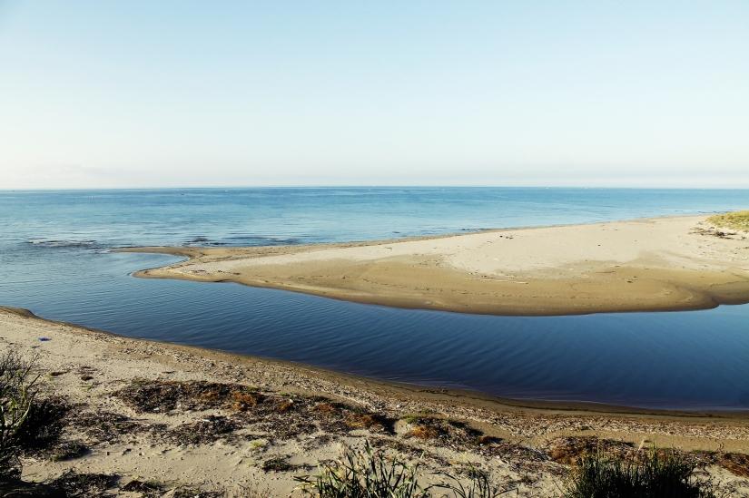 Il fiume incontra il mare