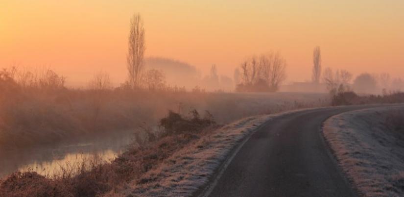 Il freddo della mattina
