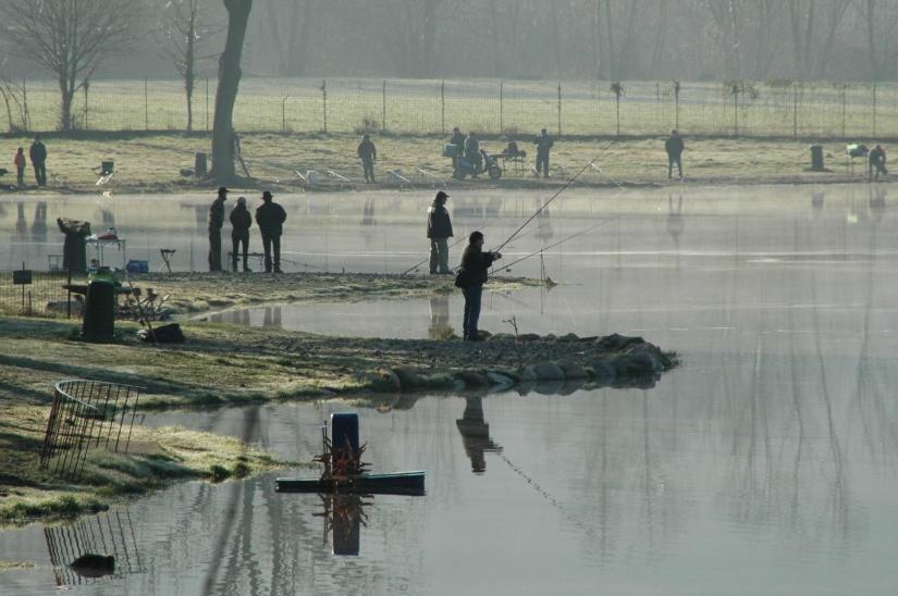 Il Laghetto di Brenno Useria - delizia dei pescatori