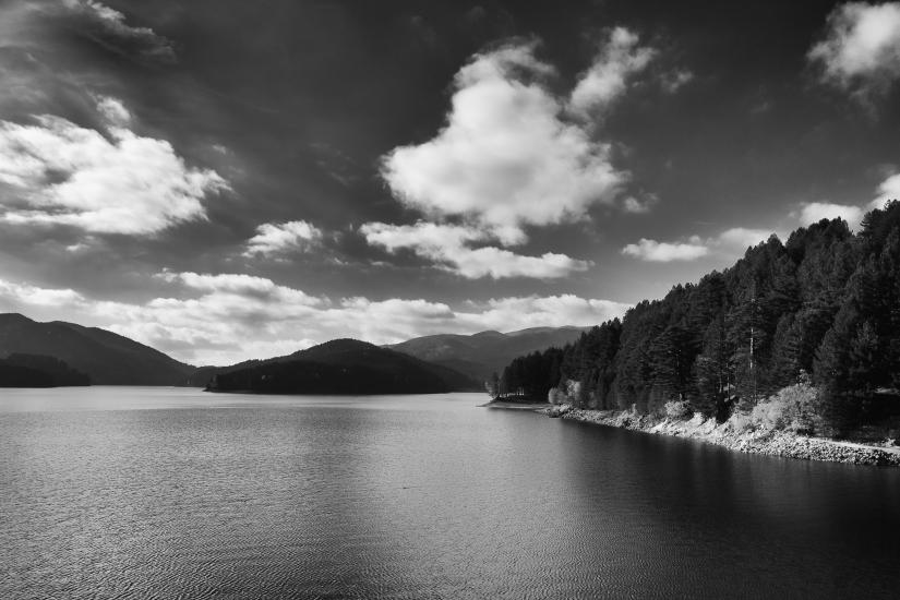 Il Lago Ampollino-Sila