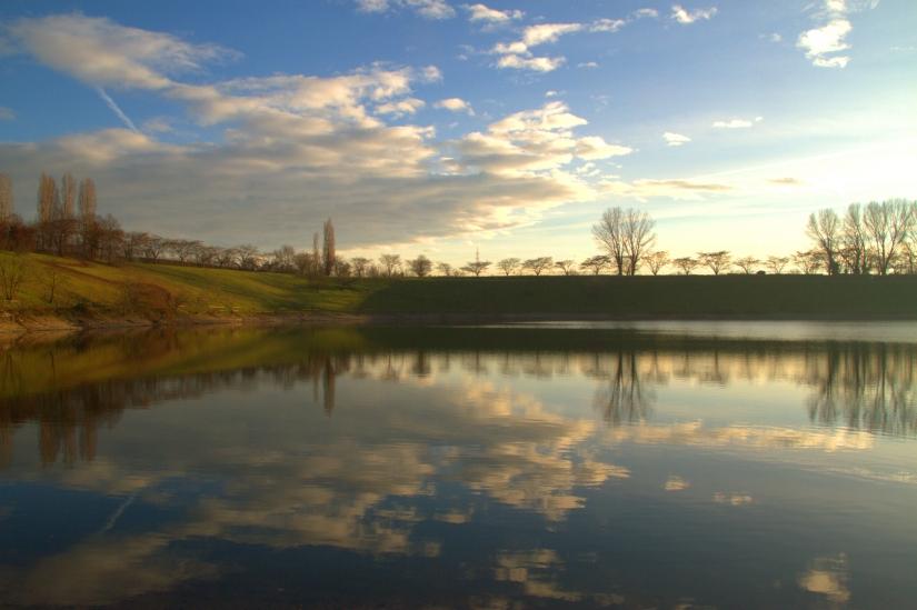Il lago del parco Increa