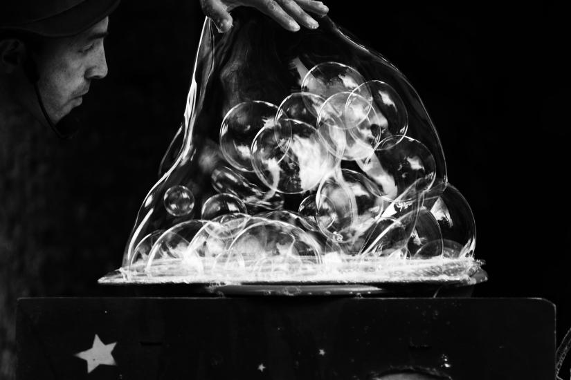 Il mago delle bolle