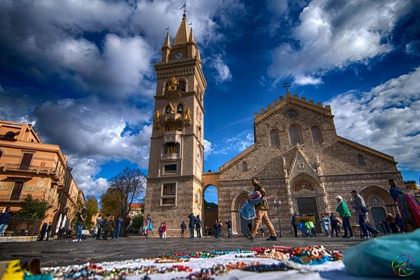 Il mercato davanti al tempio