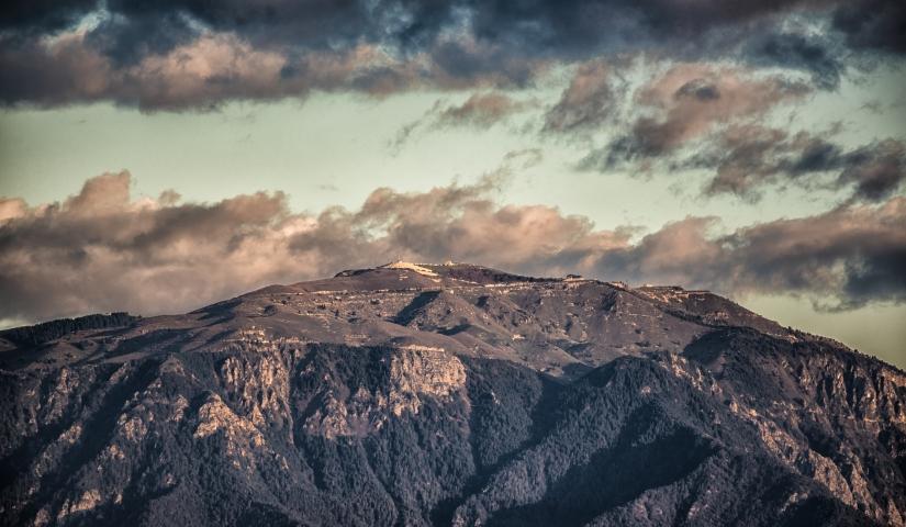 Il Montegrappa visto da Castelfranco Veneto