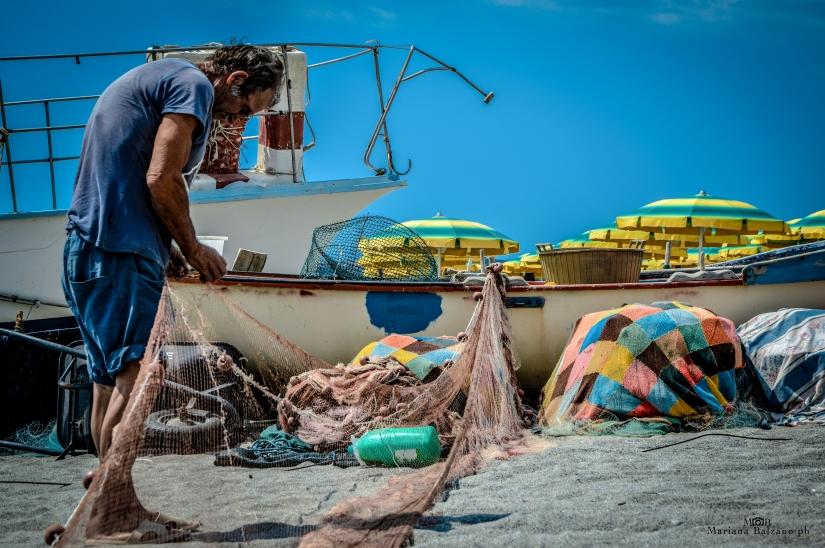 Il pescatore e le sue reti