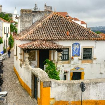 Il piccolo paesino di Obidos