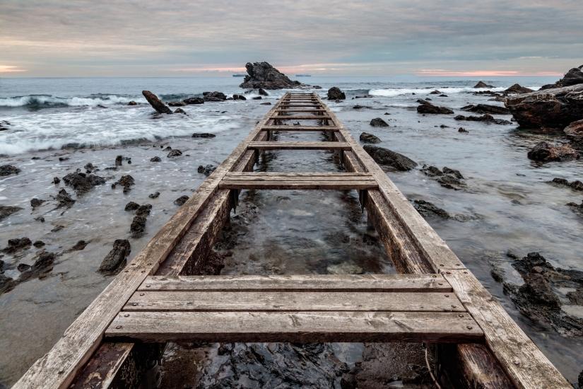 Il pontile di Antignano