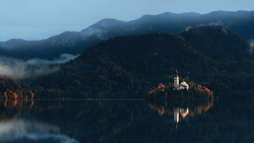Il riflesso del Lago