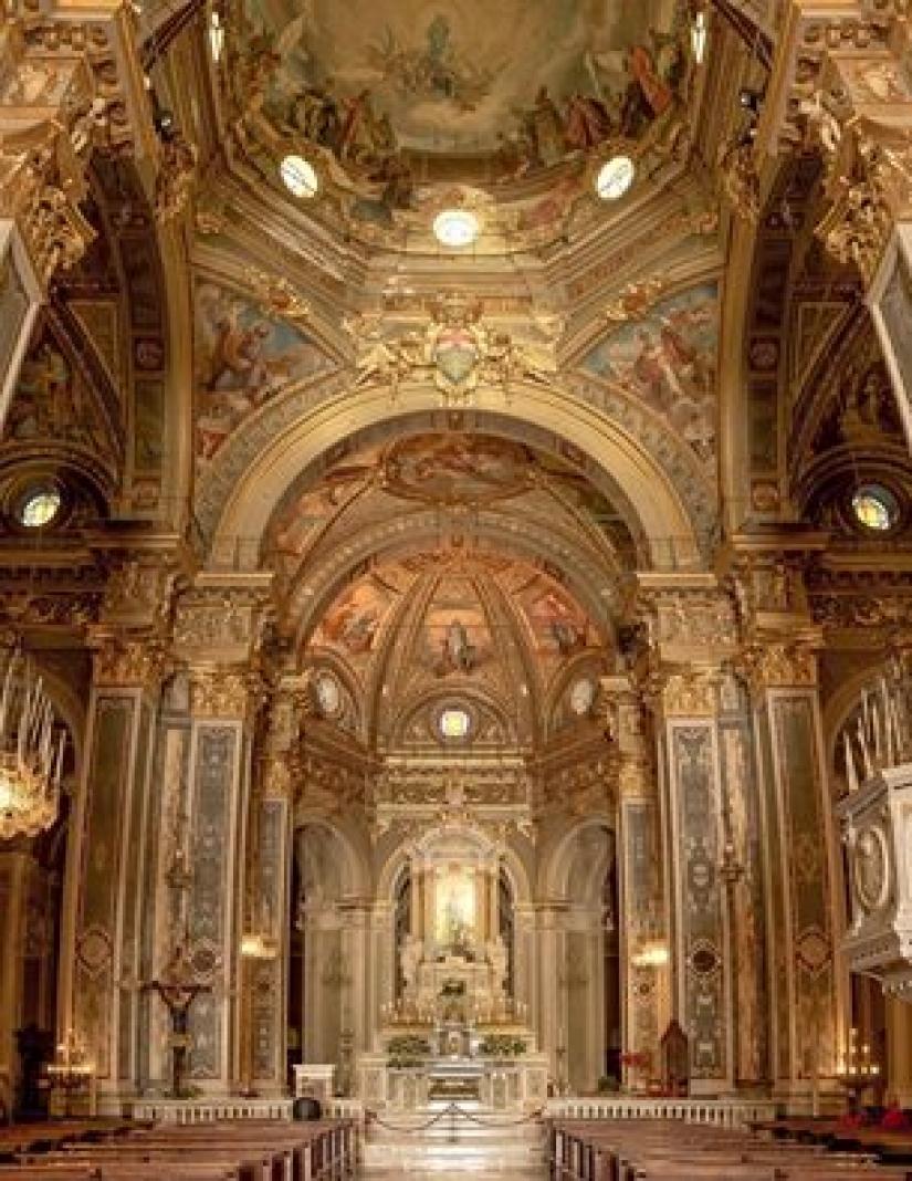 Il santuario di Nostra Signora della Guardia, Genova
