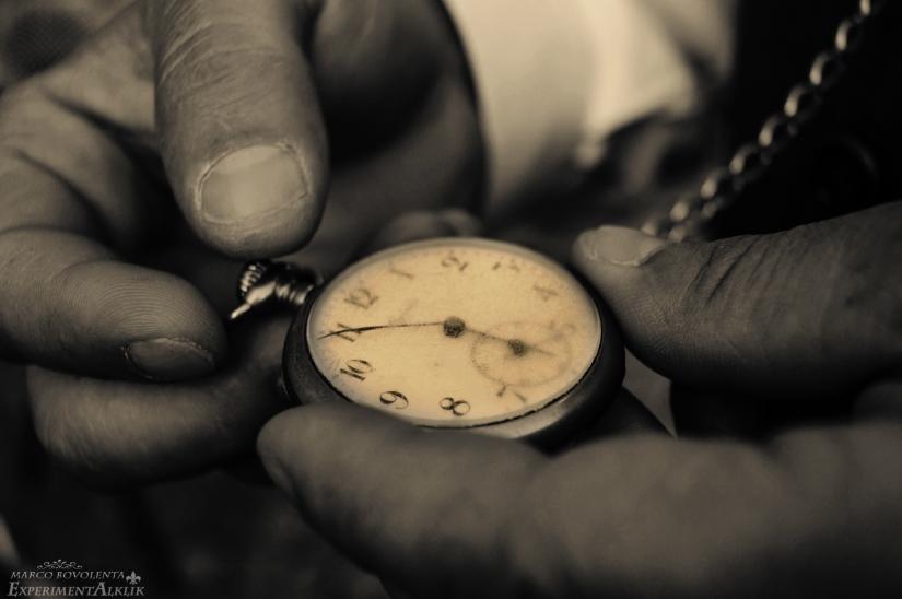 Il tempo lascia i segni al suo passaggio
