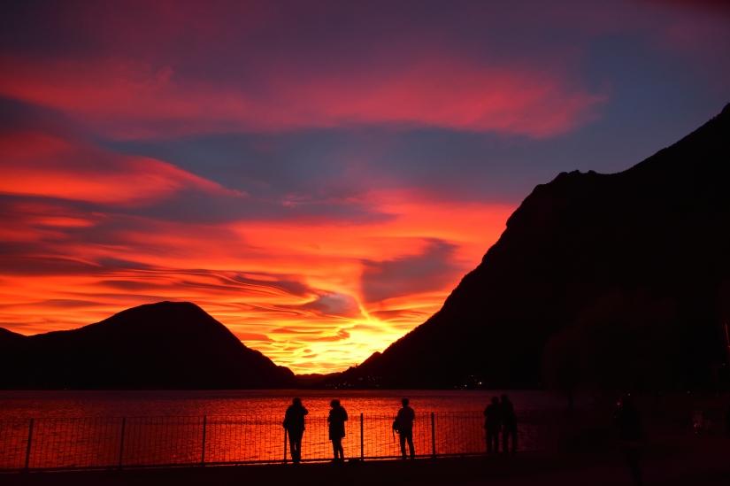 Il tramonto più bello dell'anno