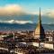Il tramonto su Torino