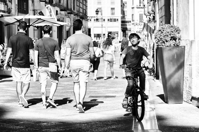 'In bici'