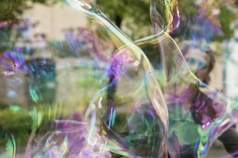 Trasparenze in una bolla