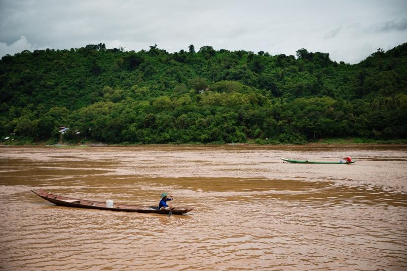 In navigazione sul Mekong