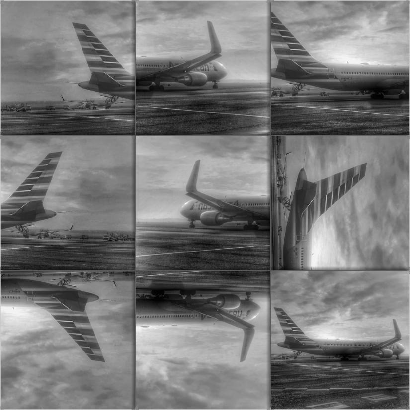 In partenza per Abu Dhabi (Collage)