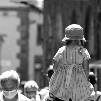 In spalla a papà .... street Siena !