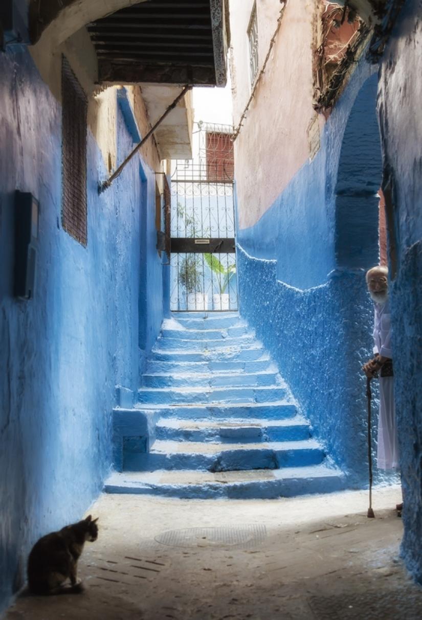 Incontri per le vie di Tangeri (Marocco)