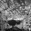 Innsbruck sotto un cielo spettacolare.