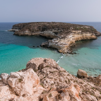 Isola di Lampedusa.