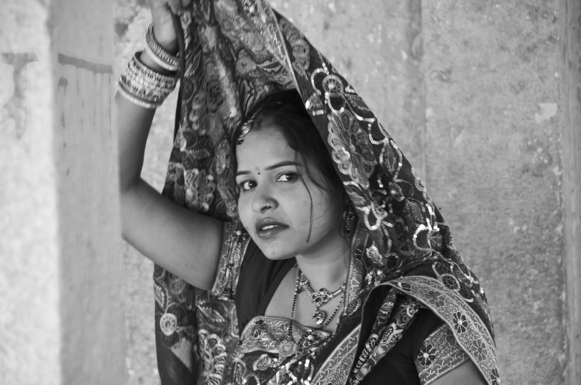 Jaisalmer -  Giovane sposa