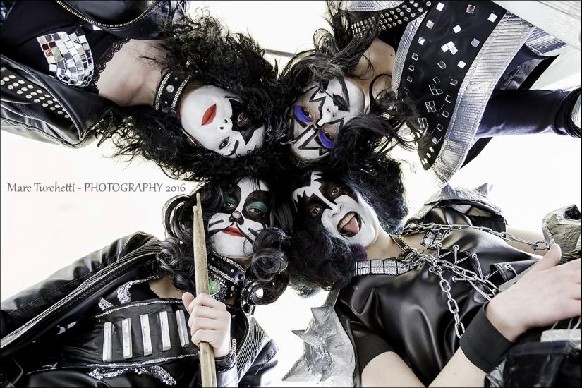 Kiss Girls Cosplay