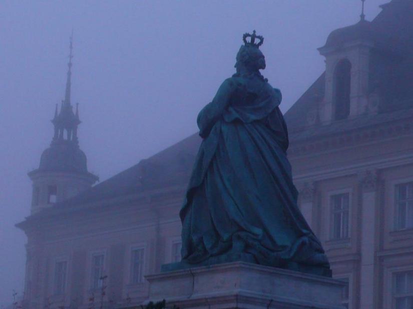 Klagenfurt (Austria) - Statua di Maria Antonietta