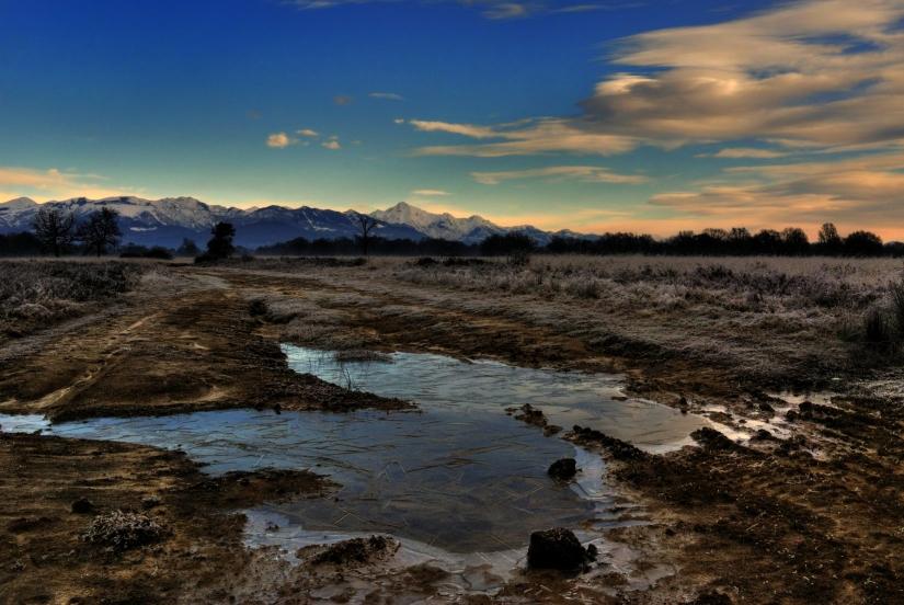 L' inverno in Baraggia