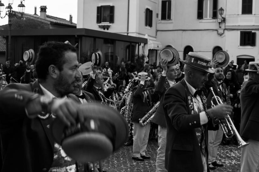 La banda musicale (carnevale Zagarolese)