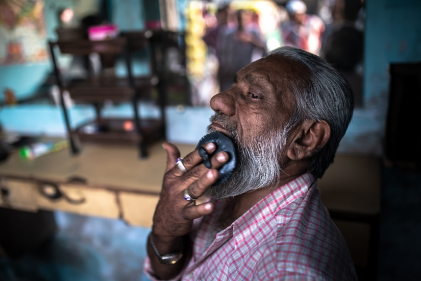La barberia di Ahmedabad