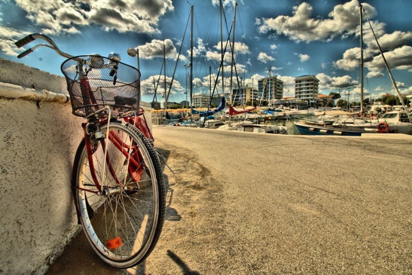 La bici al porto
