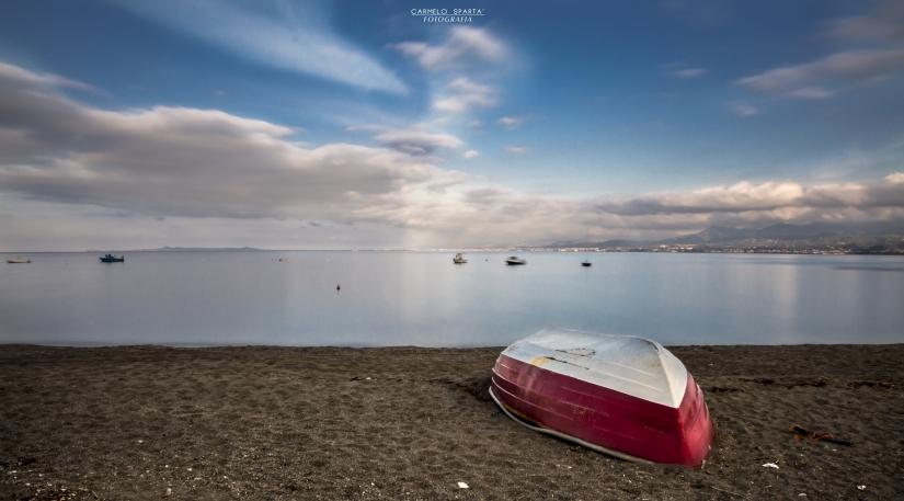 La calma in riva al mare